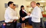 C Cubed Media is filming a sample video for Confucius Institute for Business London.